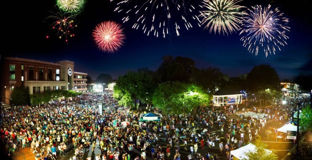 4th of July in Marietta