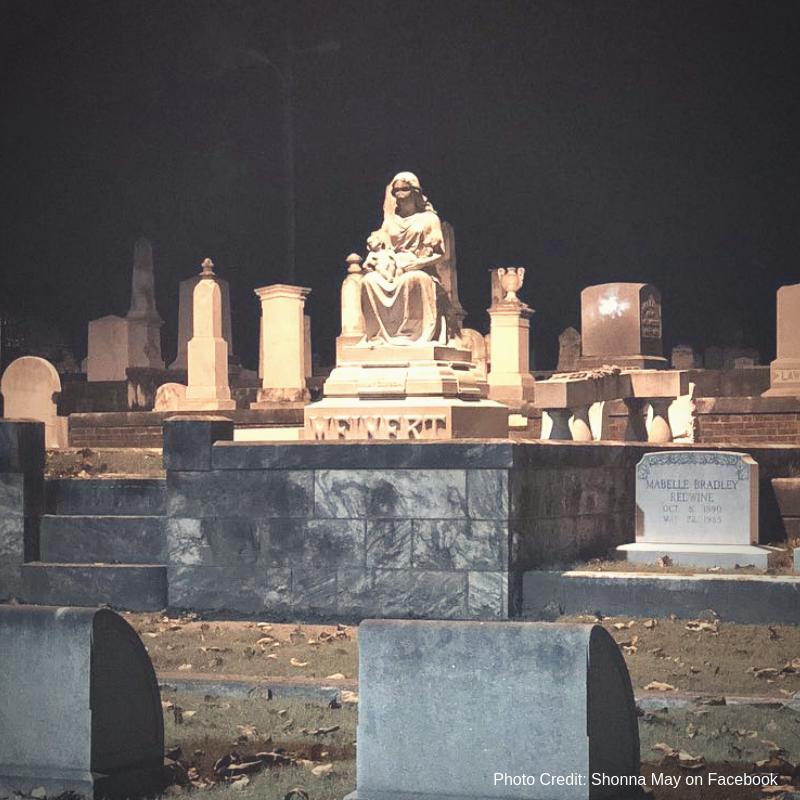 Mary Meinert's grave