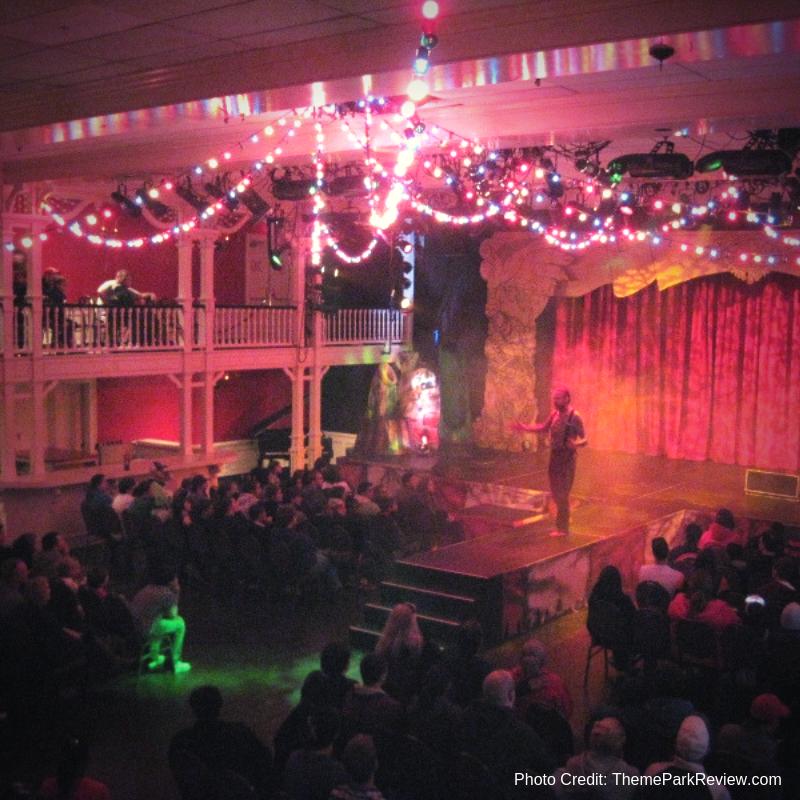 Crystal Pistol Music Hall Six Flags