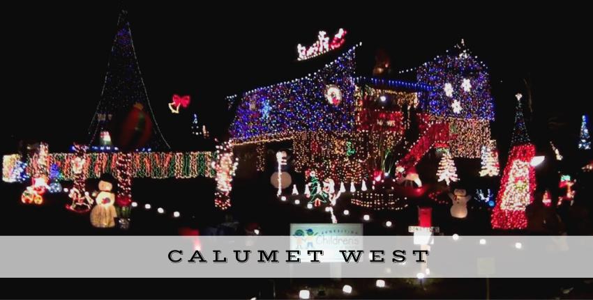 holiday lights calumet