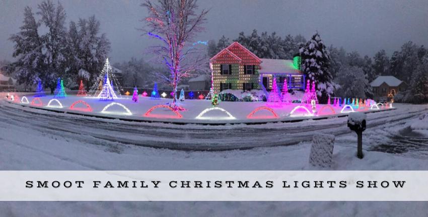Smoot Family Christmas Lights Show