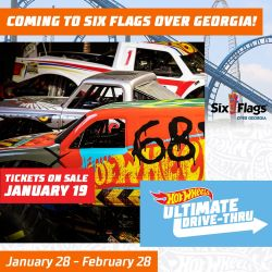All-New Hot Wheels Ultimate Drive-Thru Travels to Six Flags Over Georgia