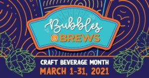 Bubbles & Brews Craft Beverage Month