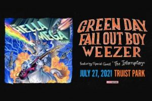 Hella Mega Tour w/Green Day, Fall Out Boy, Weezer + The Interrupters